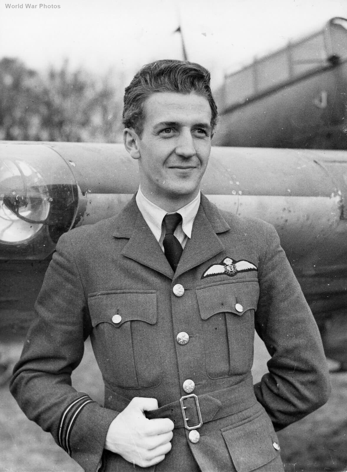Hurricane pilot FO Chevier 1 Sqn RCAF