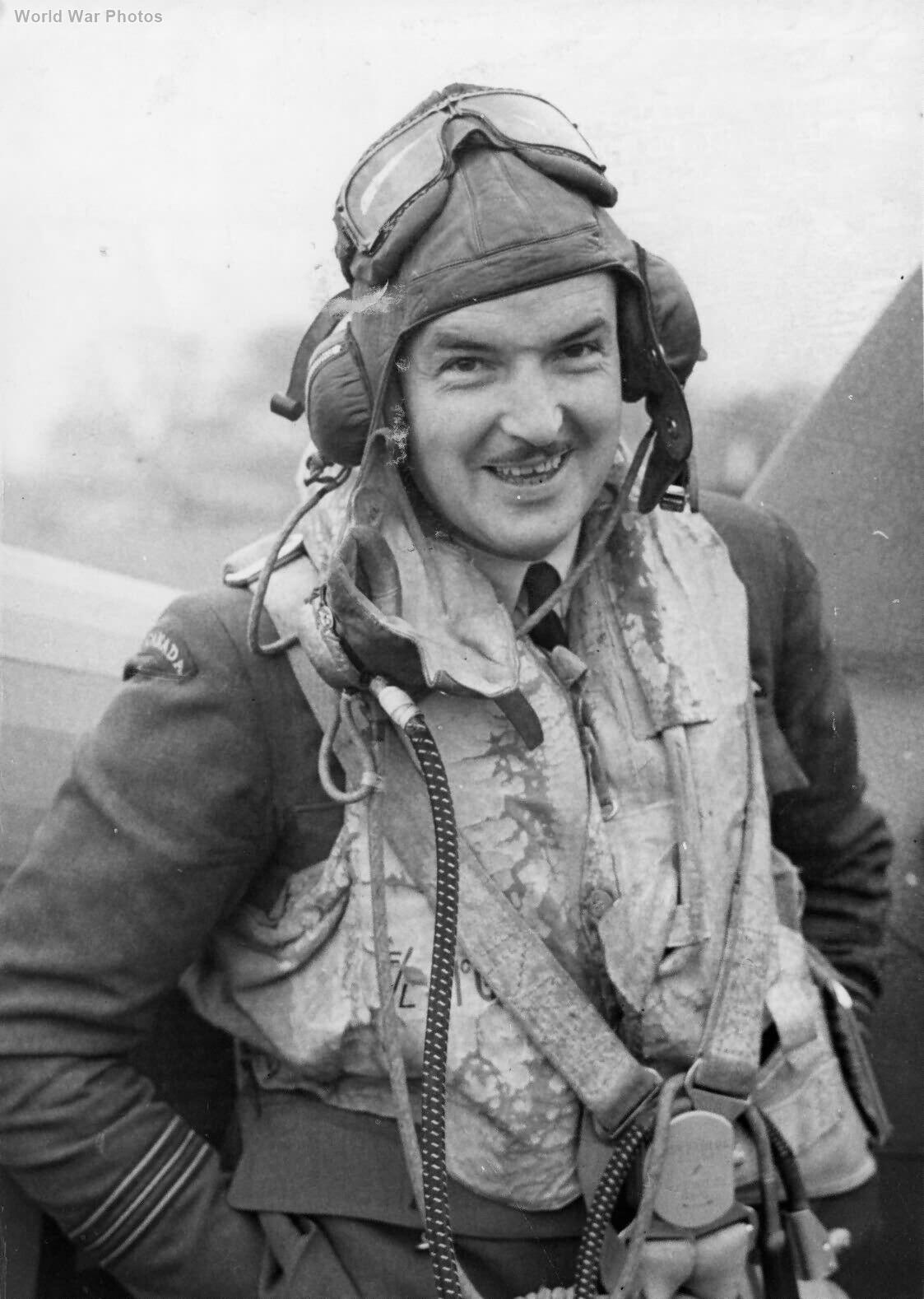 "Hurricane pilot Ernest A. ""Ernie"" McNab"