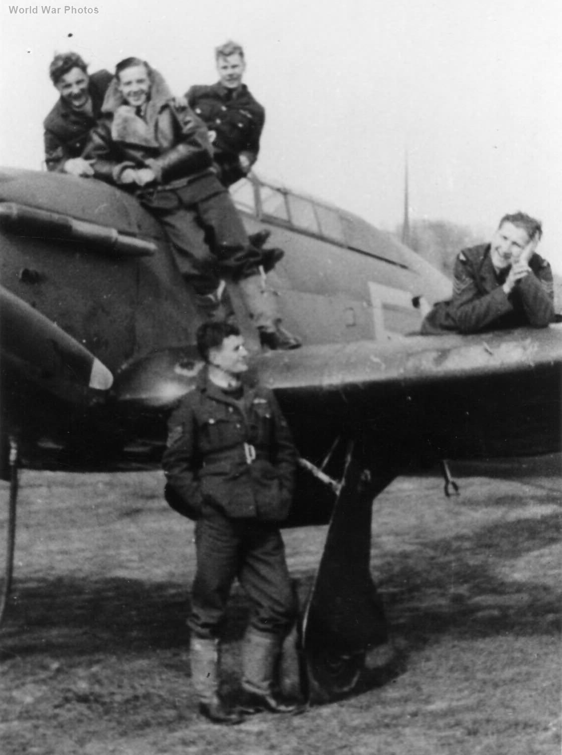 Hawker Hurricane pilots 257 Sqn 1940