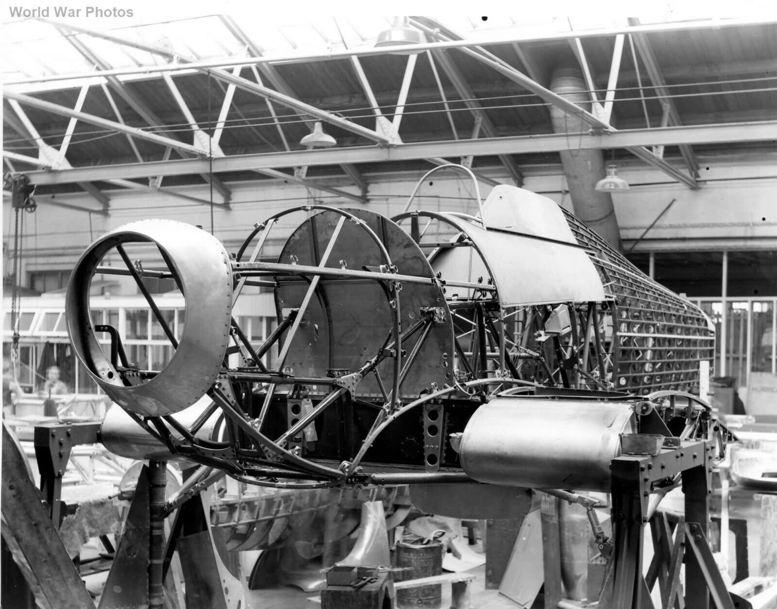 Hawker Hurricane production