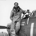 Douglas Bader 242 Sqn Hurricane 1940
