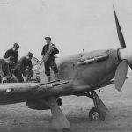 Hurricane II Being Loaded By RAF Armourers