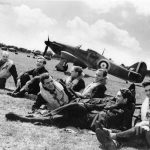 Hawker Hurricane Pilots Battle of Britain