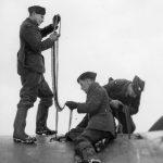 Hurricane re-arming 257 Sqn Winter 1940