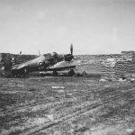 Hawker Hurricane revetment Larissa
