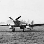 Hawker Hurricane with drop tanks