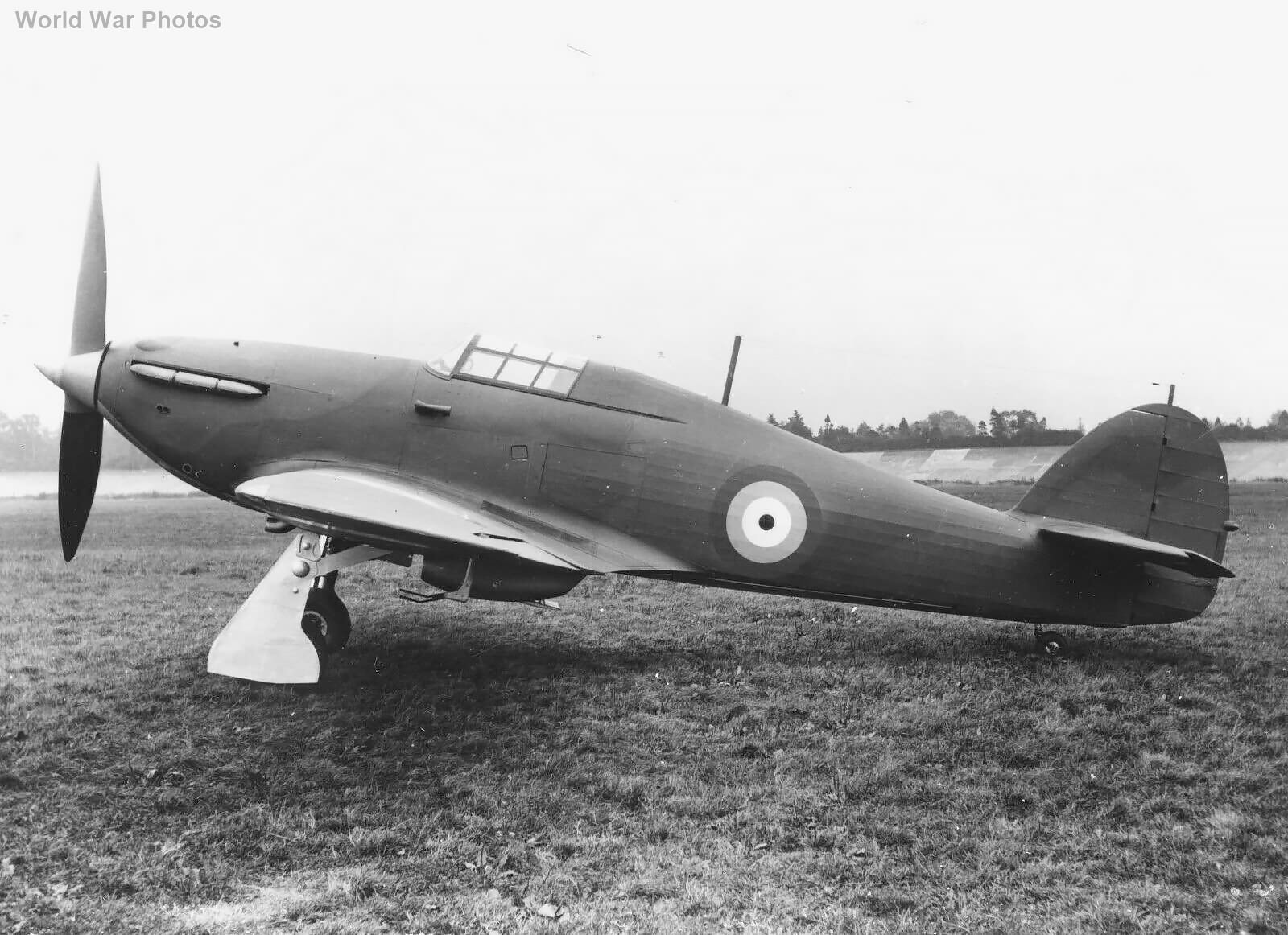 new Hawker Hurricane without serial
