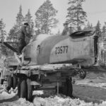 crashed Russian Hurricane serial Z3577 April 1942