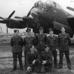 Lancaster crew after 25 ops