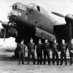 Lancaster 35 Sqn PFF WCdr Nicholls 45