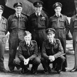 John Bernard Nicholls with crew
