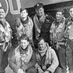 Lancaster 463 Sqn FO Wickes crew