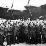 Crews after raid Milan 24 October 1942