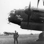 Lancaster LL842 VN-F 50 Sqn