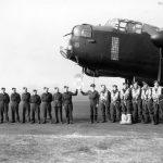 Lancaster bomber ME746 166 Sqn