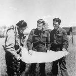 Lancaster pilot James F Barron