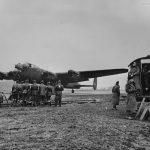 Lancaster bomber DV236 SR-G