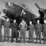 WCdr Hopcroft with Avro Lancaster