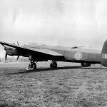 Lancaster with Bristol B.17