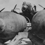 Lancaster being bombed up