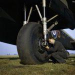 Lancaster main landing gear