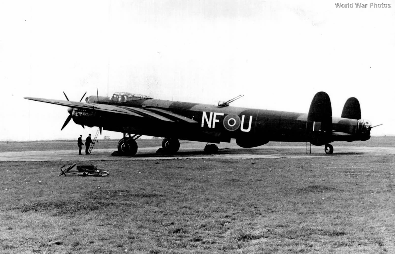 Avro Lincoln NF-U of No. 138 Squadron RAF