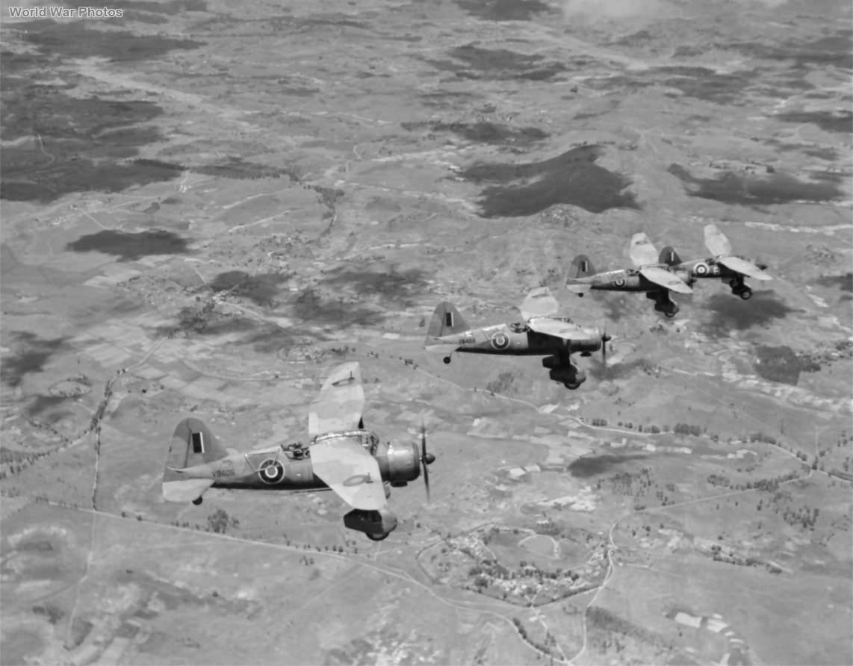 Lysanders of No. 1433 Flight RAF over Madagascar 1942