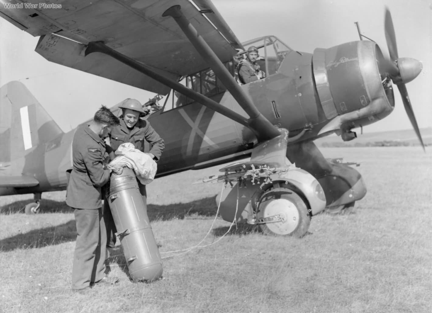 Westland Lysander of No. 225 Squadron RAF