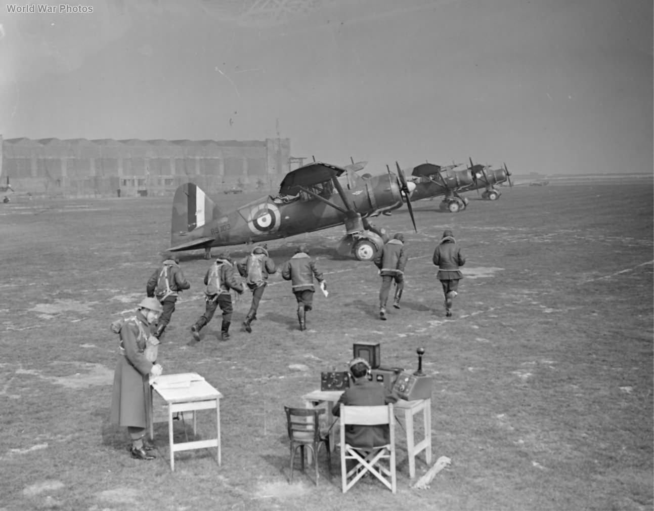 Lysanders Mk III of No. 400 Squaron RCAF at Odiham