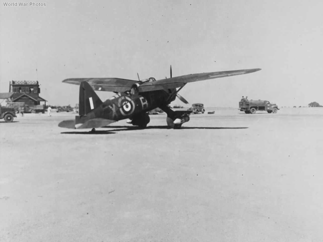 Westland Lysander of No. 28 Squadron 1942