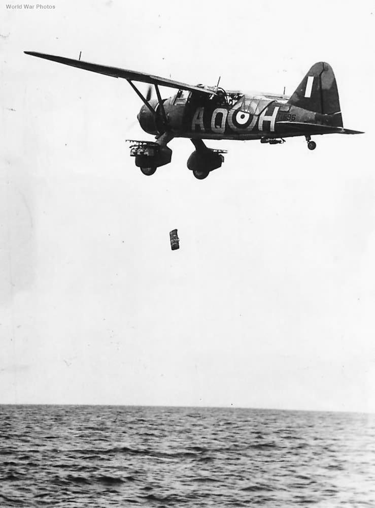 Lysander AQ-H of No. 276 Squadron RAF