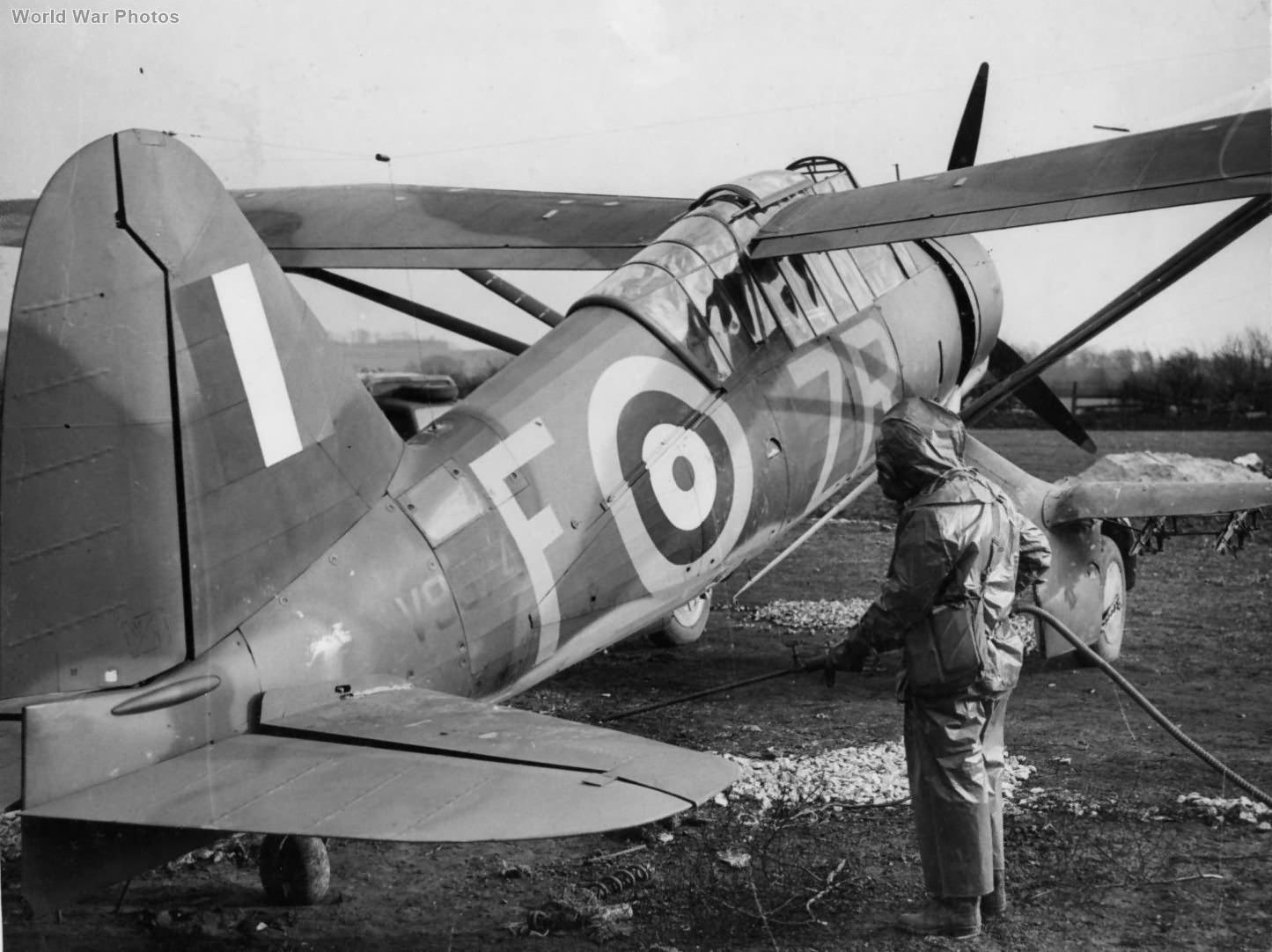 Lysander Mk IIIA V9374 ZR-F of No. 613 Squadron RAF