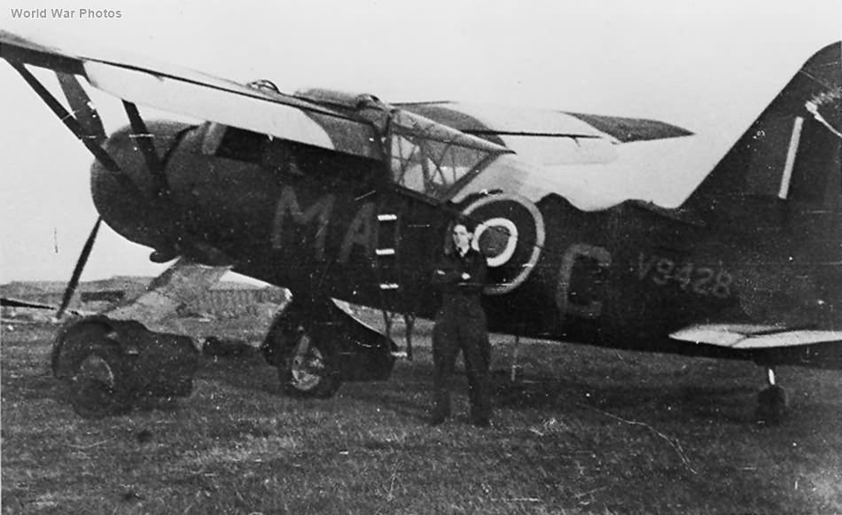 Westland Lysander IIIA V9428 MA-C of 161 Squadron