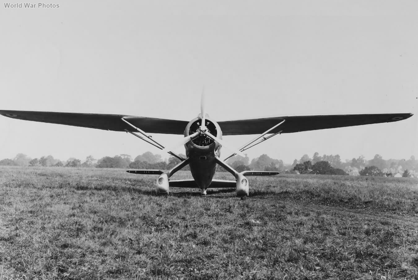 Westland Lysander K6127 1936