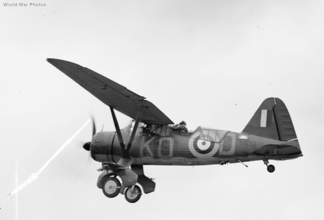 Westland Lysander Mark III T1532 of No. 2 Squadron RAF