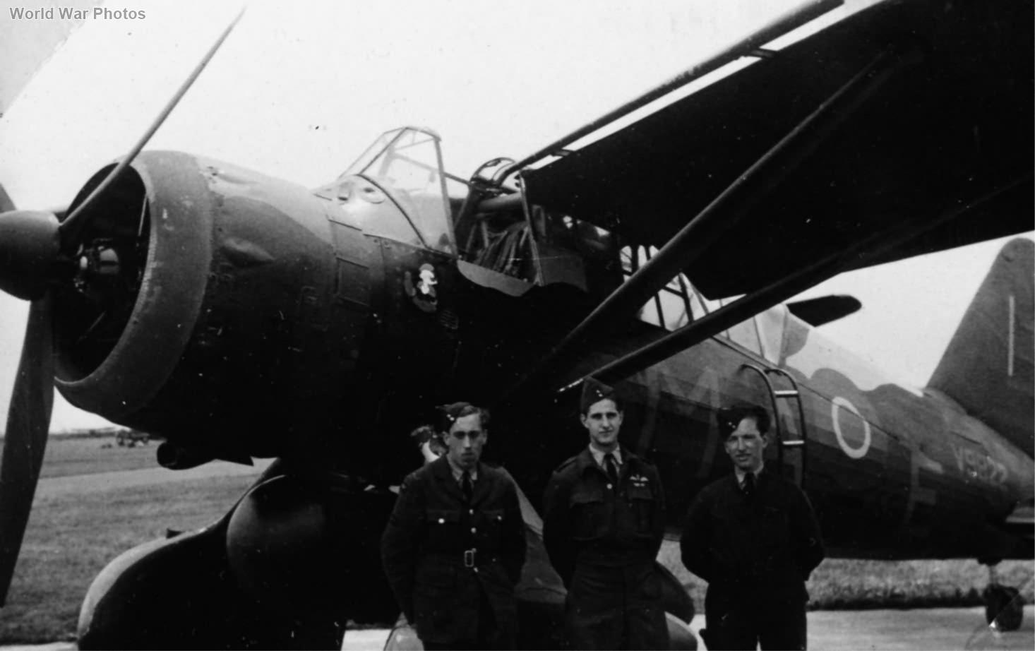 Lysander Mk IIIA V9822 MA-E of No. 161 (Special Duties) Squadron RAF