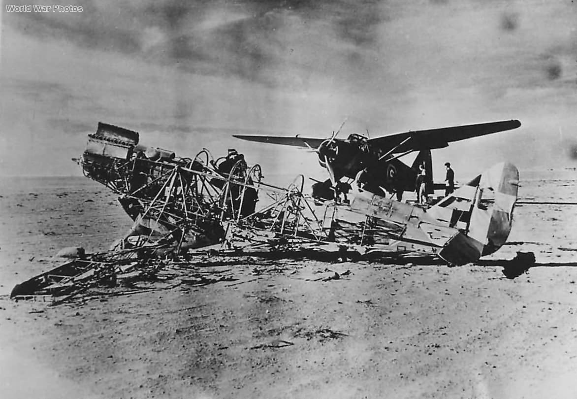 Lysander Mk II 208 Squadron at El Adem Airfield