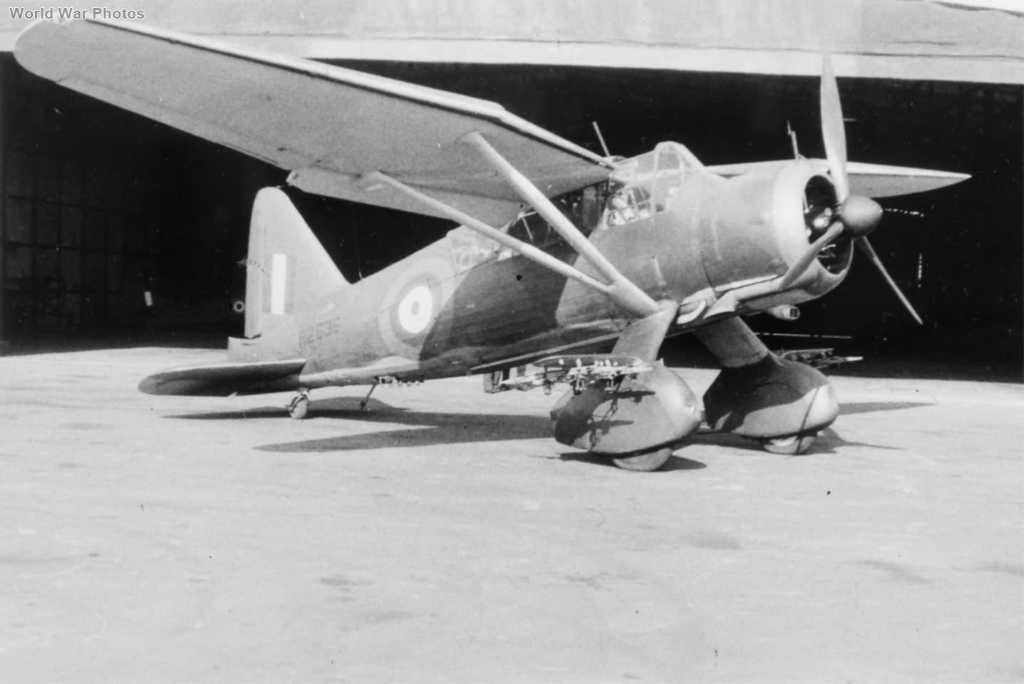 Lysander Mk I R2636