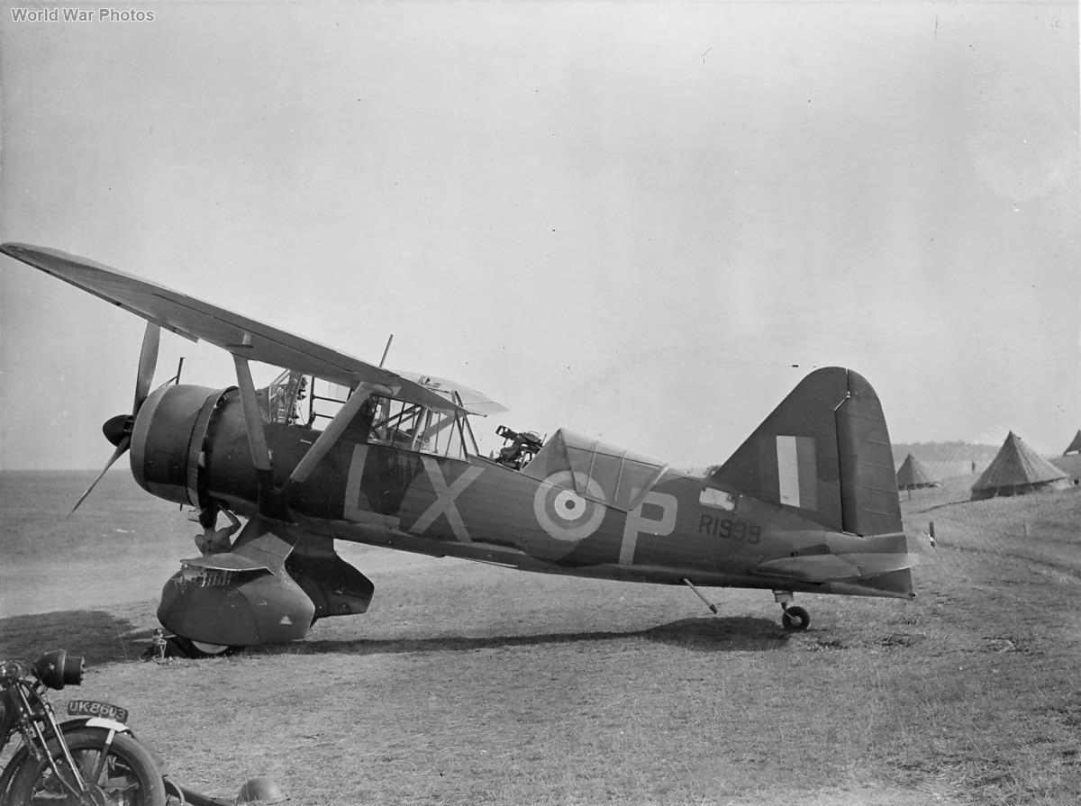 Westland Lysander R1999 LX-P Tilshead 1940