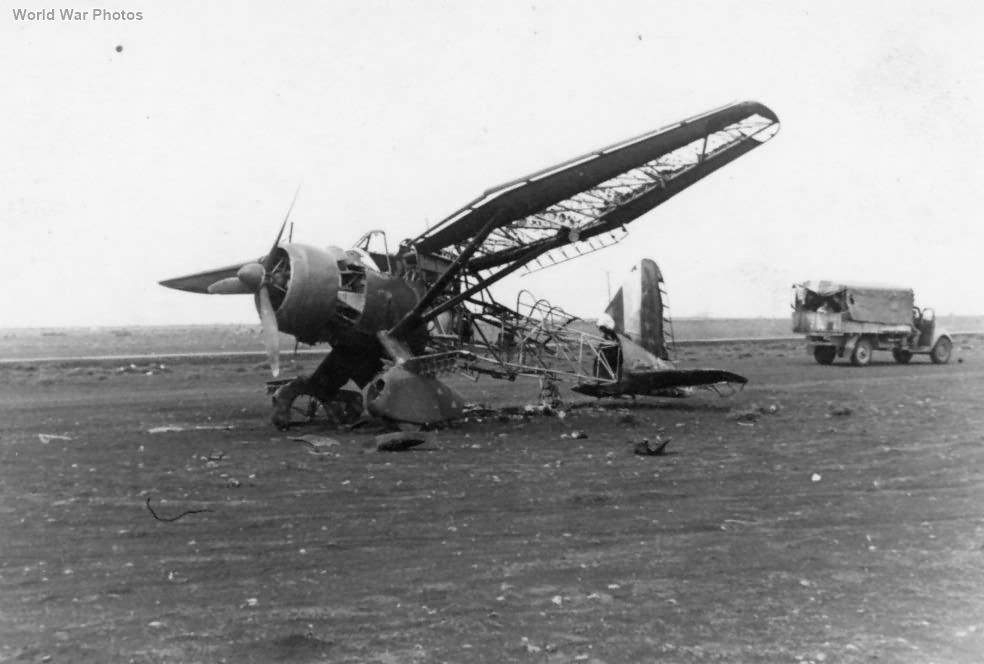 Wreck of Lysander North Africa