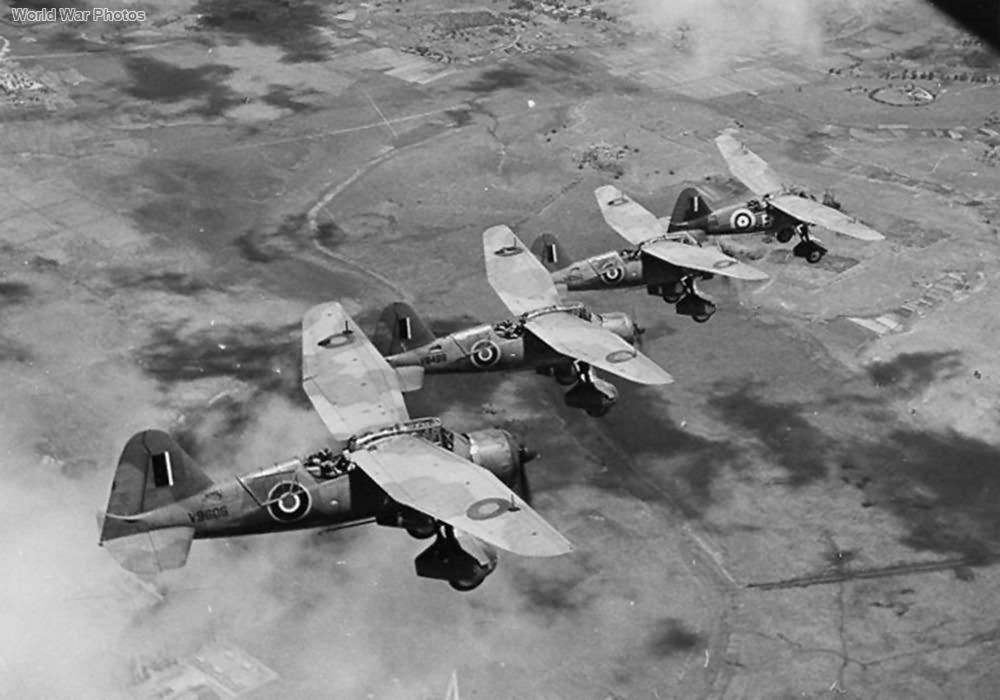 Lysanders IIIA V9606 V9499 Madagascar 1942