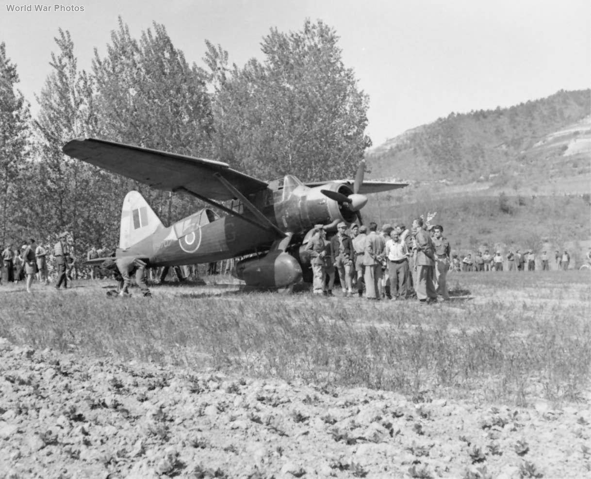 Lysander Mk IIIA V9707 of No. 148 Squadron Italy