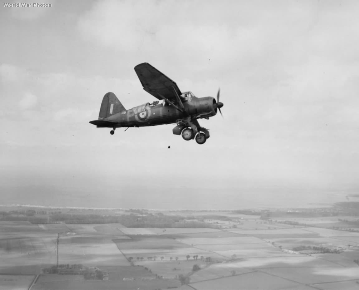 Lysander Mk III LJ-P of No. 614 Squadron RAF