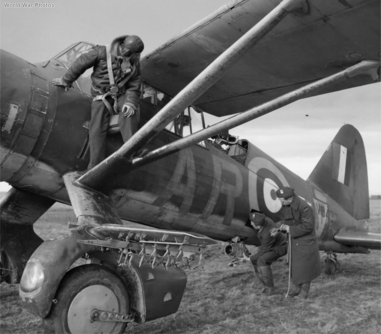 Polish Lysander V9437 AR-V of No. 309 Squadron RAF
