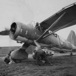 Westland Lysander IIIA with Dinghy Containers