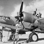 Martin Maryland Mk I of No. 39 Squadron RAF undergoing servicing