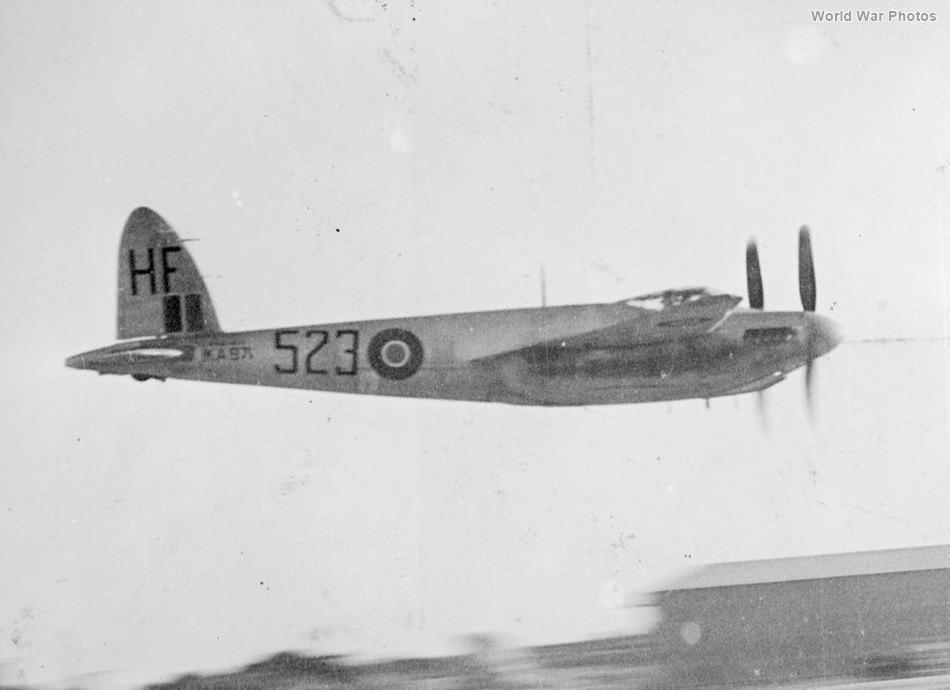 Mosquito Mk 25 KA971 728Sqn 1946