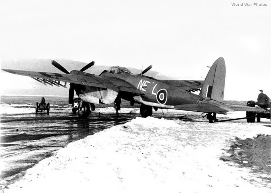 Mosquito Mk VI HR414 NE-L of No. 143 Squadron RAF