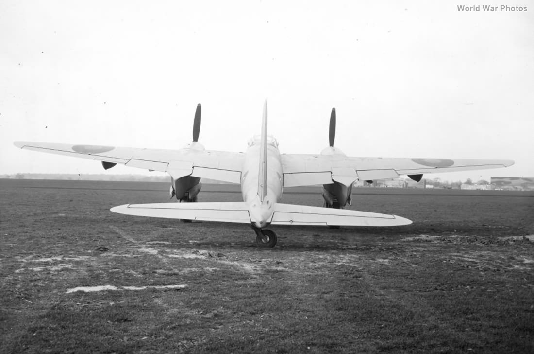 de Havilland Mosquito rear