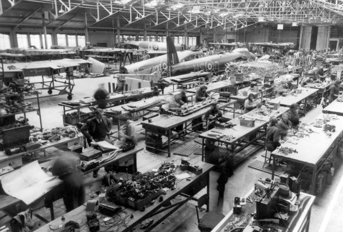 RAF repair shop